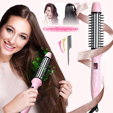 Hair Dryer Ionic Comb 2 In 1 Hair Straig