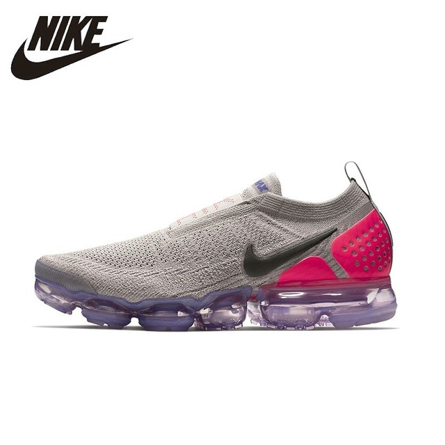 brand new 226fd f9b29 US $109.8 39% OFF|NIKE Air Vapormax Flyknit Original Mens Running Shoes  Breathable Stability Comfortable Support Sports Sneakers For Men Shoes-in  ...