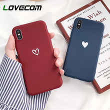 LOVECOM Phone Case For iPhone XS Max XR 6 6S 7 8 Plus X Kore