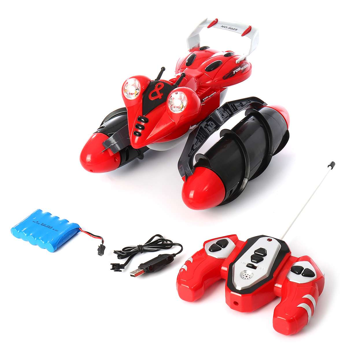 Electric RC Car Remote Control Amphibious Vehicle Off-Road Truck Toy All-terrain Ship Transportation Children Kids GiftsElectric RC Car Remote Control Amphibious Vehicle Off-Road Truck Toy All-terrain Ship Transportation Children Kids Gifts