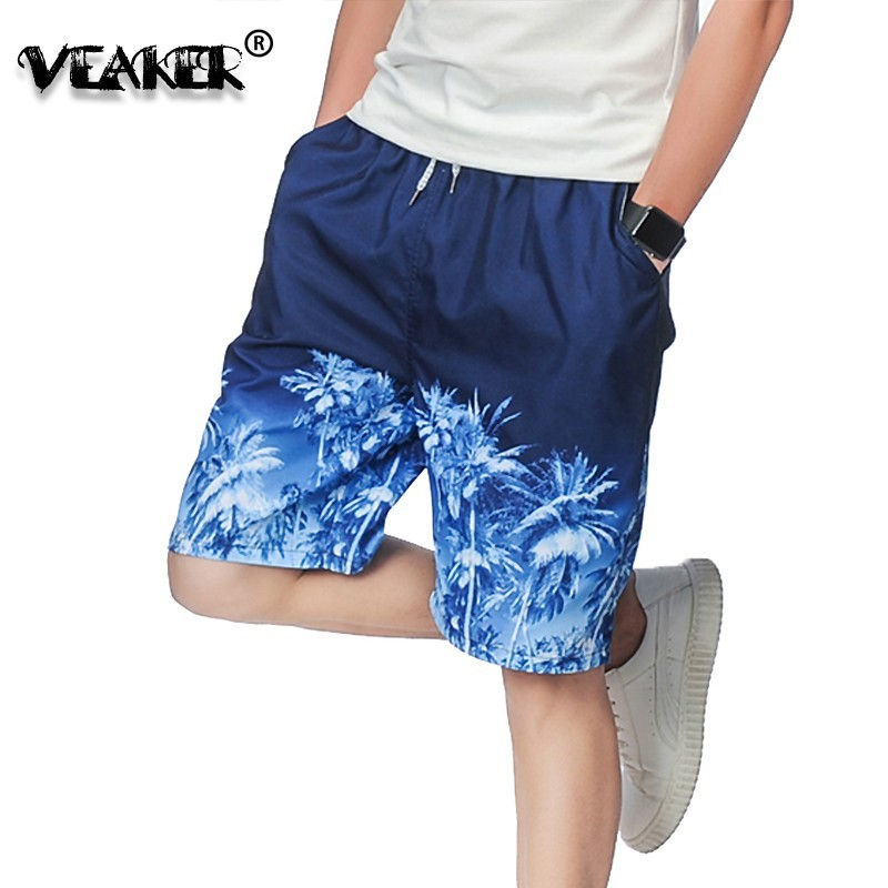Mens Shorts Surfings Male Breathable Quick-Dry Beaches Summer Plus-Size Casual New 4XL