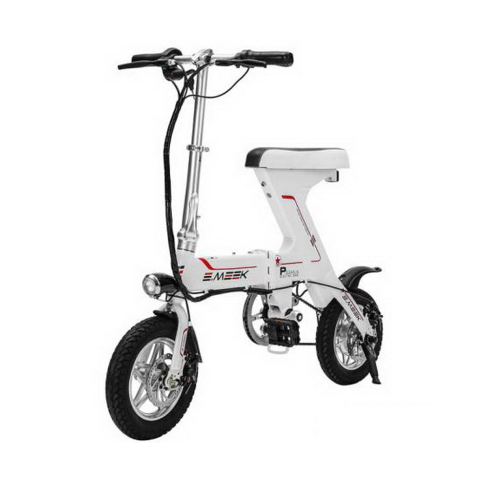 261030 Electric bicycle folding lithium electric scooter adult mini battery car bikes Charge protection system in Electric Bicycle from Sports Entertainment