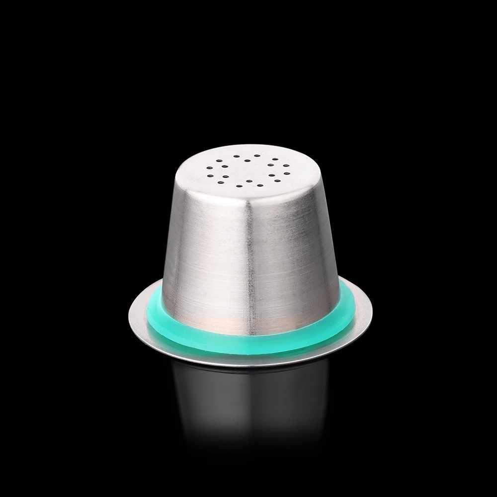 6 Pod 1 трамбовка из нержавеющей стали многоразового использования кофейная капсула Nespresso многоразовые Nespresso Машина Эспрессо Кофеварка фильтр кофейный