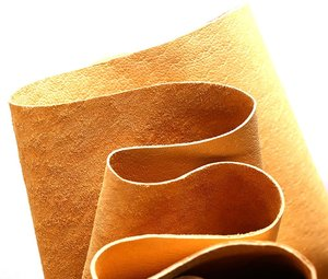 Junetree pig leather hide pig skin yellow Colors whole piece hide pig skin genuine leather for leather craft by real shoes cloth