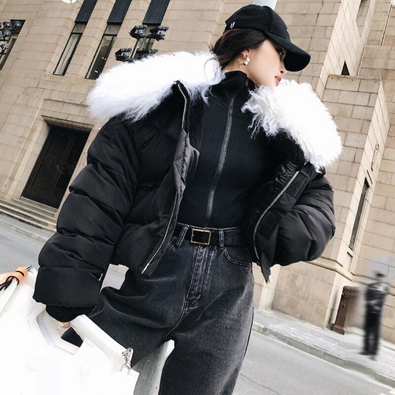 Au Mode Coton Femmes Fourrure Qualité Marée Black Manches Garder Amovible Supérieure Hiver Shengpalae À Longues Clothing2019 Chaud Col Nouvelle Manteau Fl913 De 4wF5q67