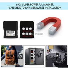 real time waterproof portable mini gsm gprs vehicle car gps tracker locator tracking magnet Long Battery Standby TK905 TK915