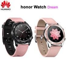 Смарт часы Huawei Honor Watch Dream, спортивные часы для сна, бега, велоспорта, плавания, гор, GPS, цветной экран AMOLED 1,2 дюйма, часы 390*390