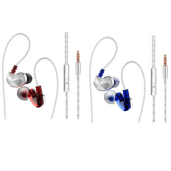 MagiDeal Sweatproof Wired 3.5mm Sports Running Gym Earphone Bass Headphone Sports In-ear Earphone  Perfect for exercising