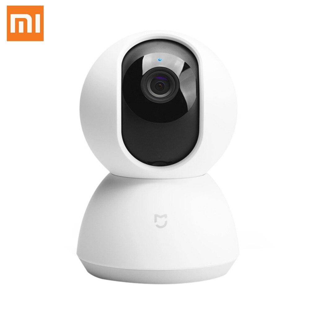 Xiaomi Mijia caméra IP intelligente berceau tête Version 1080 P HD 360 degrés Vision nocturne moniteur de sécurité pour Smart Home télécommande