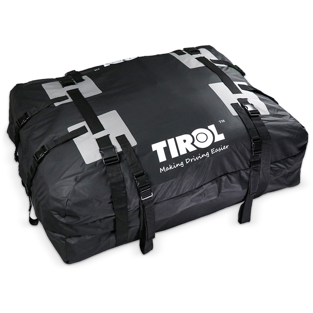 TIROL Waterproof Roof Top Carrier Cargo Luggage Travel Bag Super Large 295L Roof Top Cargo Carrier Bag kemimoto 15 cubic feet rooftop cargo carrier waterproof roof top cargo luggage travel bag for car truck suv vans with roof rails