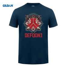GILDAN Lastest Fashion Gildan Novelty Men O-Neck Defqon 1 Short Sleeve Tees