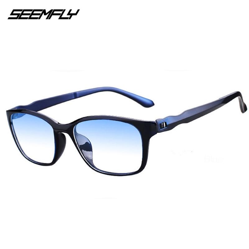 Seemfly Reading Glasses Ultralight Anti Blue-ray Men Women High Quality TR90 Material Anti-fatigue Presbyopic Eyewear Glasses