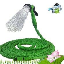 Растяжимый садовый шланг расширяемый гибкий водяной шланг пластиковый пистолет волшебный/телескопический шланг для полива растягивающаяся Оросительная труба