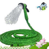 Extensible Garden Hose Expandable Flexible Water Hose Plastic Gun Magic/Telescopic Hose For Watering Stretchable Irrigation Pipe