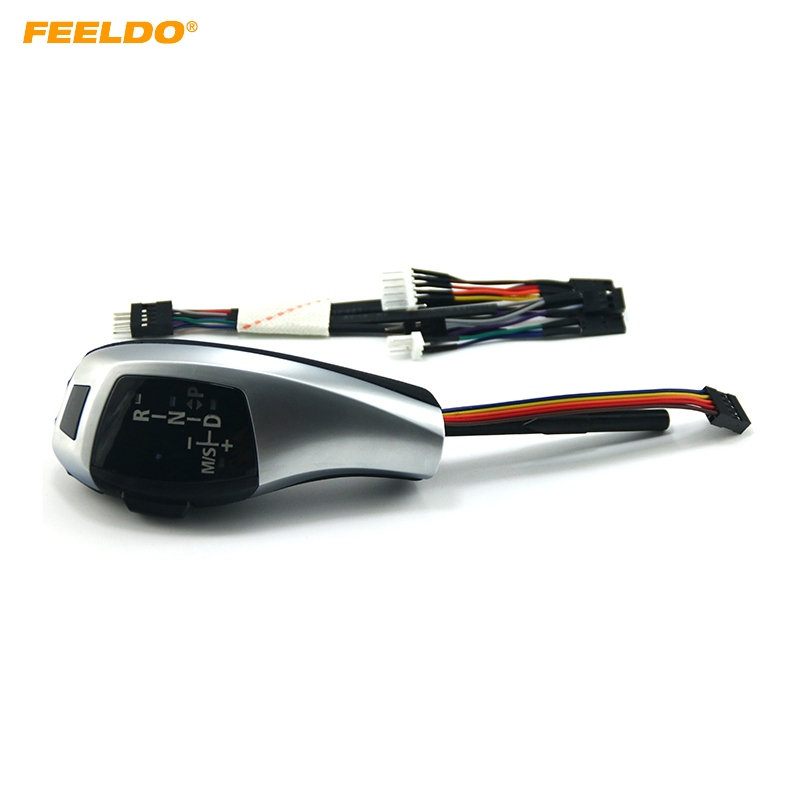 FEELDO Upgrade To LHD LED Electronic Gear Shift Knob For BMW E39 4D Facelifted/E39 5D Facelifted/E53 Facelifted #5813