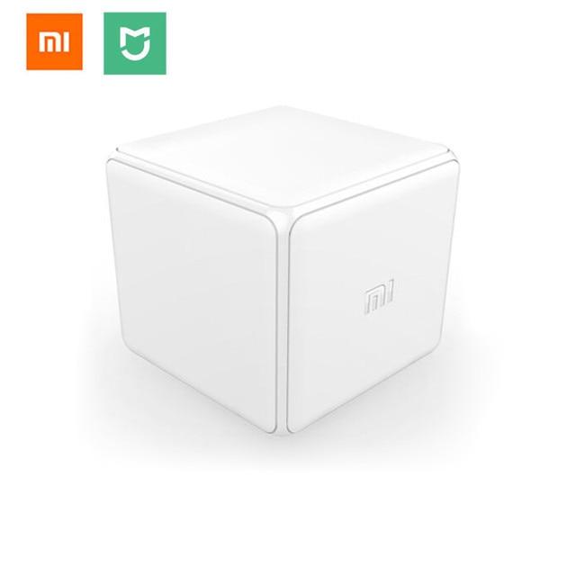 Xiao mi mi Magiczna Kostka Kontrolera Zigbee Wersja Kontrolowane przez Sześć Działań Dla inteligentne urządzenia domowe pracy z mi jia mi domu app