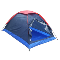2 People Outdoor Camping Tents Travel Hiking Tent with Bag Single Layer Fishing Tent with Carry Bag for Hiking Traveling tent