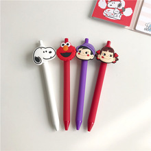 SIXONE Creative Cartoon Snoopy Neutral Pen Cute Rogue Dog Press 0.5mm Black Signature Student Stationery
