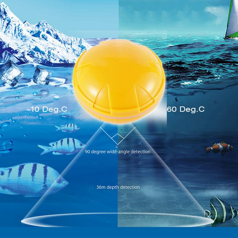 2019 New Fishfinder Wireless Sonar Fish Finder High Quality Sea Lake Fish Detect For Smartphone App