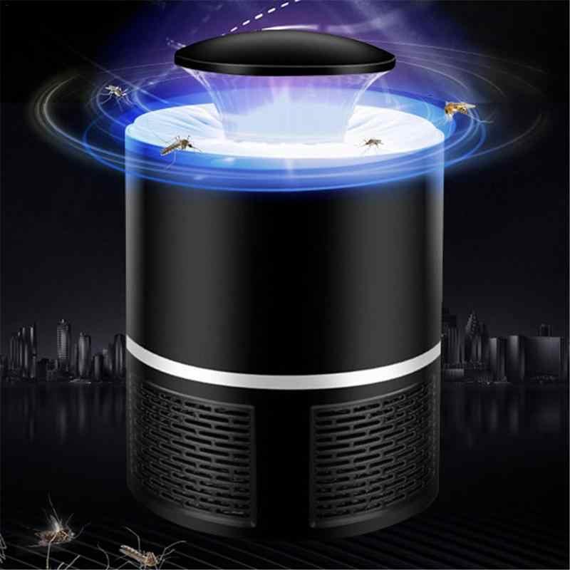 Baru USB Listrik Nyamuk Pembunuh Lampu LED Radiasi Fotokatalis Fisik Nyamuk Repeller Terbang Pembunuh Lampu Serangga Penangkap Perangkap