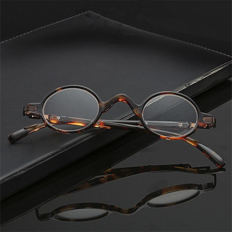 Lesebrille Männer Frauen Falten Kleine Gläser Rahmen Schwarz Metall Gläser Mit Original Box Damenbrillen