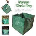Ev ve Bahçe'ten Atık Kovaları'de Bahçe Alet Çantası Yeniden Kullanılabilir Dokuma Bahçe atık torbaları Çim Havuzu Yard Çim bahçe yaprağı atık torbası Yeşil Atık Dönüştürücü Araçları