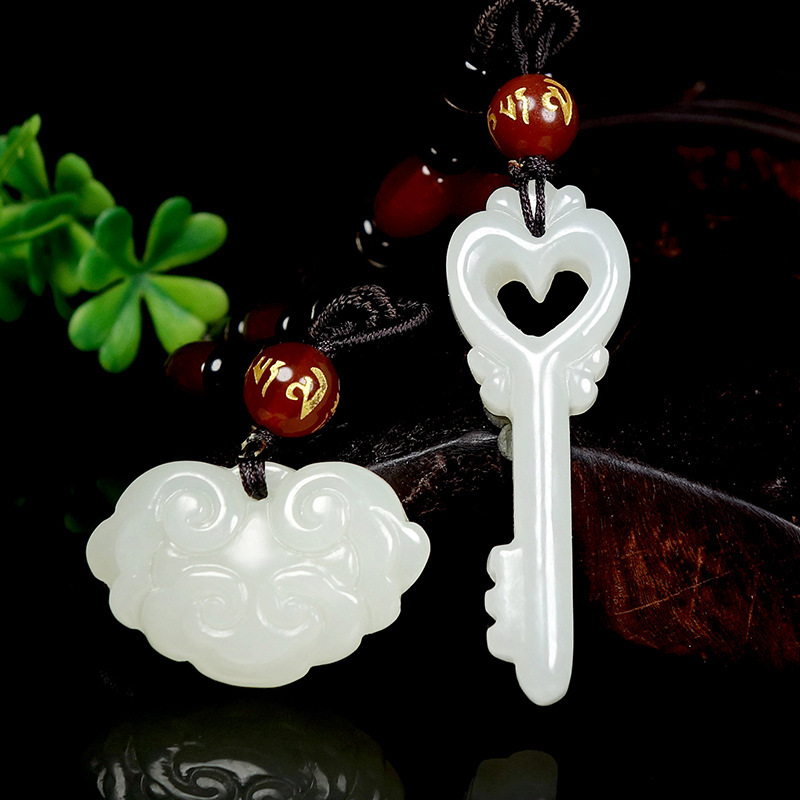 Reiki Popsocket Buda Druzy laiton jointures livraison gratuite artisanat cadeaux Xinjiang naturel véritable Hotan Couple pendentif suspendu