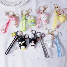 903f27282 1 Pc Creative Sanrio Series My Melody Pudding Cinnamoroll Dog Hello Kitty  Keychain Bag Pendant Keyring