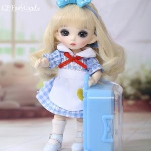 Image 5 - Fairyland Pukifee Luna 1/8 BJD Dolls Model  Girls Boys Eyes High Quality Toys For Girls Birthday Xmas Best Gifts