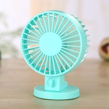 Mini USB Personal Table Desk fan,Powerful Wind Portable Small Quiet Fan 2 Speed Modes Dual Blades for Room Office Desktop Outd