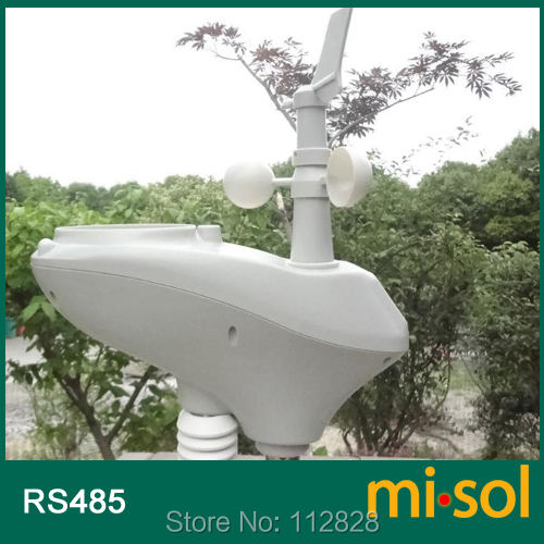 MISOL weather station with RS485 port 4 wires cable with cable length 10 meter