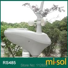 MISOL/מזג אוויר תחנת עם RS485 נמל, 4 חוטים כבל, עם כבל אורך (10 מטר)