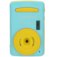 2.4Hd Screen Digital Camera 16Mp Anti-Shake Face Detection Camcorder Blank Point And Shoot Camera Digital Portable Cute Child(China)