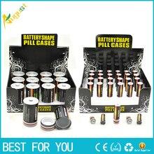 1PC Free Shipping Secret Stash Diversion Safe AA Battery Pill Box Hidden Contain