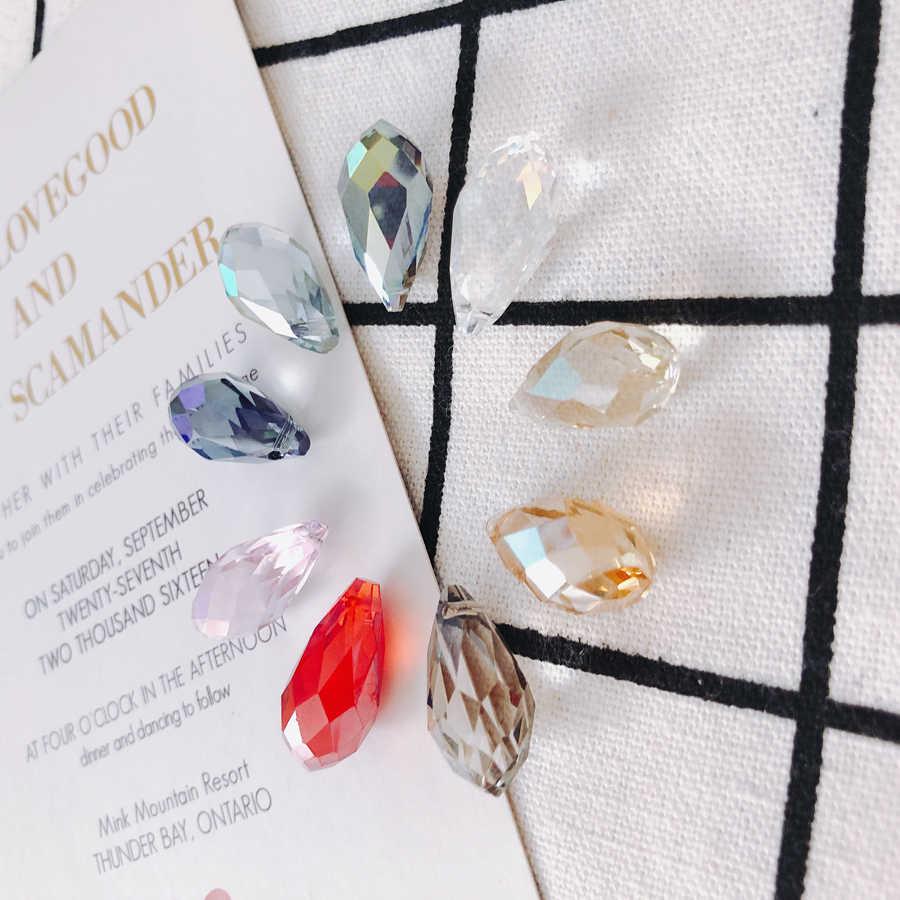 10 штук/упаковка lotglassWater падение shapebead capsearings модные jewelrytasseljewelry findingsbracelet jewelrymakingOther