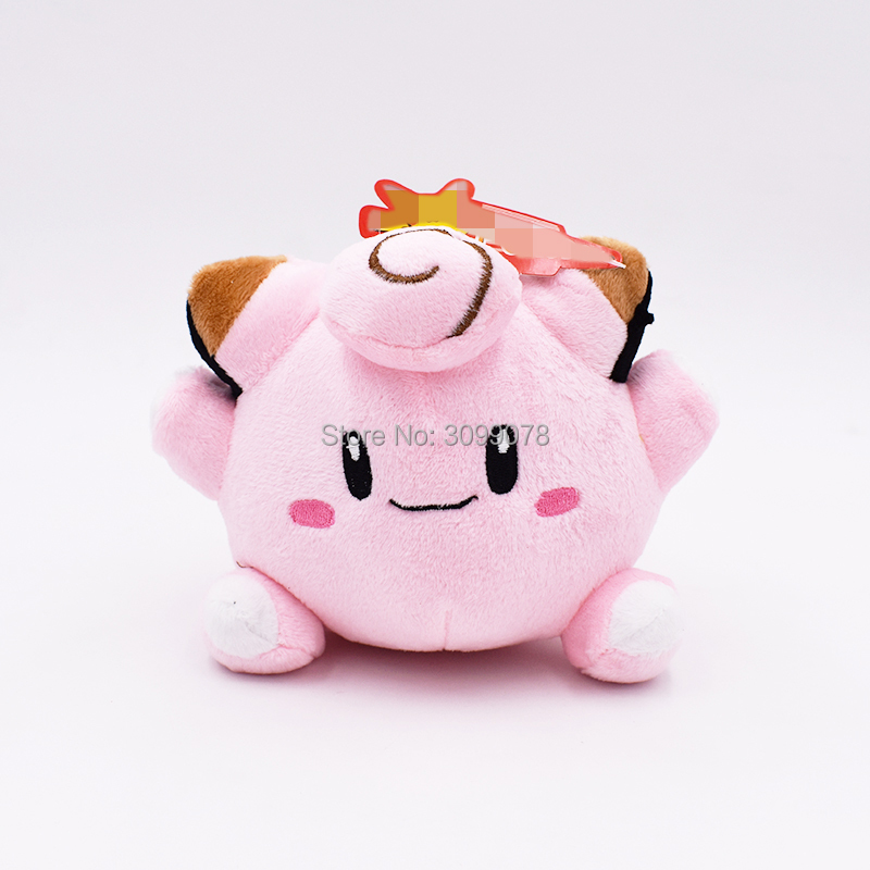 10Pcs Lot 14cm New Clefairy Plush Toy Stuffed Doll Soft Baby Hot Toys Gift With Tag