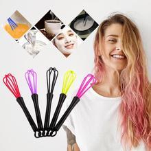 1 шт Многофункциональный пластиковый салонный крем-краска для парикмахерских, венчик, смеситель краски для волос, Парикмахерская мешалка, блендер для ухода за волосами, инструменты для укладки, случайные