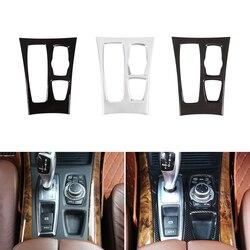 Stile auto Interni Centro di Controllo Del Cambio del Pannello Della Copertura Della Pagina Trim Per BMW X5 X6 E70 E71 2008 2009 2010 2011 2012 2013
