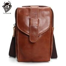 цена на 100% Genuine Leather Messenger Bags Men Travel Business Crossbody Shoulder Bag For Man Sacoche Homme Bolsa Masculina