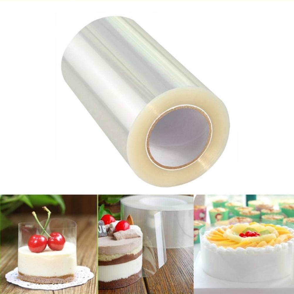 10M Transparent Mousse Cake Edges Wrap Dessert Surrounding DIY Baking Bounded Film Cake Edge Band Packaging Decoration Tools