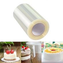 10M Transparent Mousse Cake Edges Wrap Dessert Surrounding DIY Baking Bounded Film Edge Band Packaging Decoration Tools