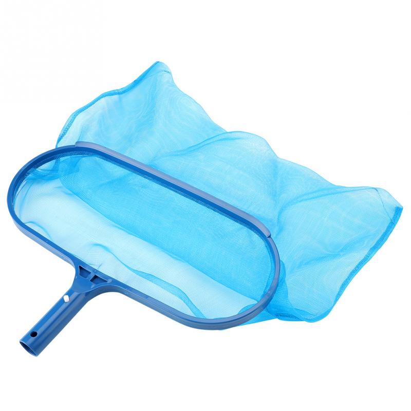 US $4.69 6% OFF|Blue Plastic Leaf Skimmer Fine Mesh Net Professional  Skimmer Cleaner Swimming Pool Pond Tub Cleaning Tool-in Cleaning Tools from  Home ...