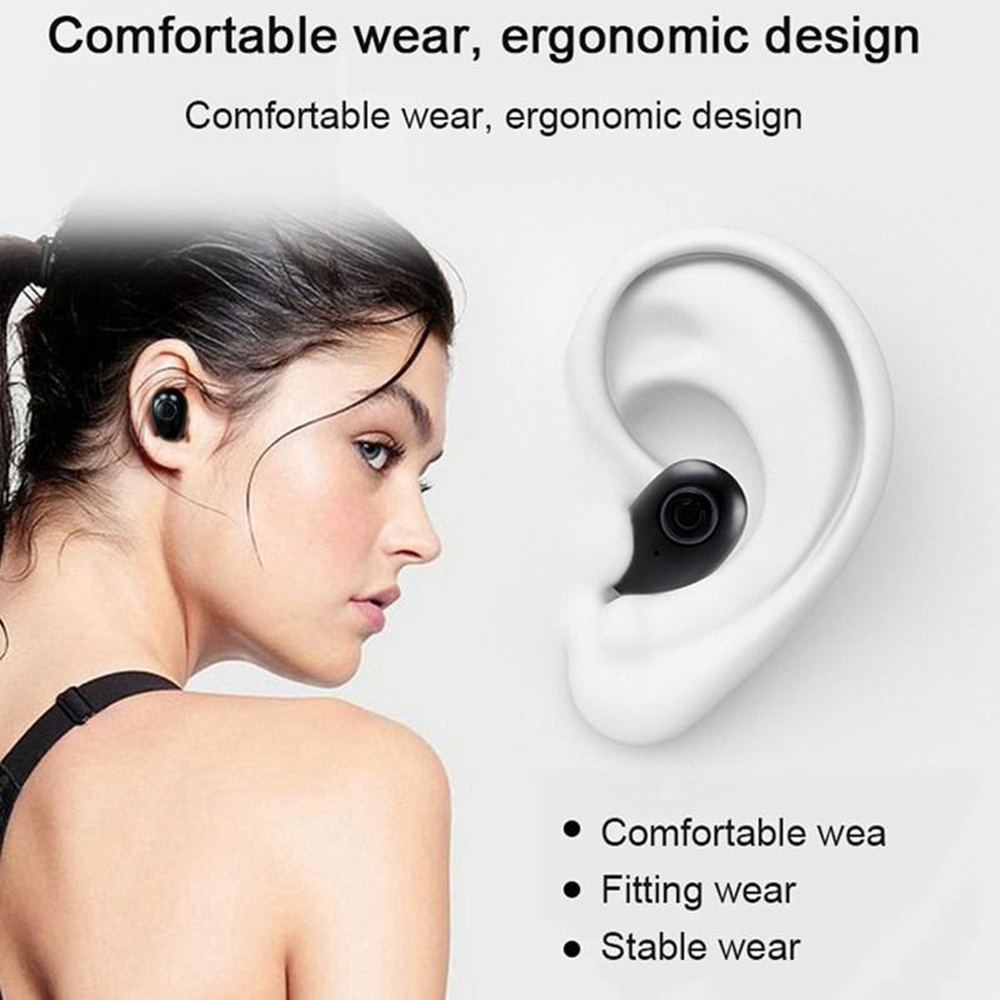 KISSCASE Stereo Wireless Bluetooth Earphone For iPhone 8 7 XR X XS Max HiFi Wireless Headphone Headset In-Ear Earbuds Earphones
