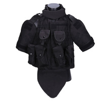 Wolf Slaves Phantom Interceptor Modular OTV Body Armor Tactics Vest Black