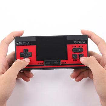 New FC NES Handheld Portable Players Built-in 348 Classic Game Console Retro Video Game Controller
