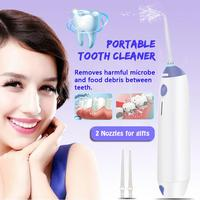 Portable Water Flosser Jet Dental Floss Teeth Cleaner Oral Irrigator Denture Tooth Care Rechargeable Mouth Hygiene Cleaner