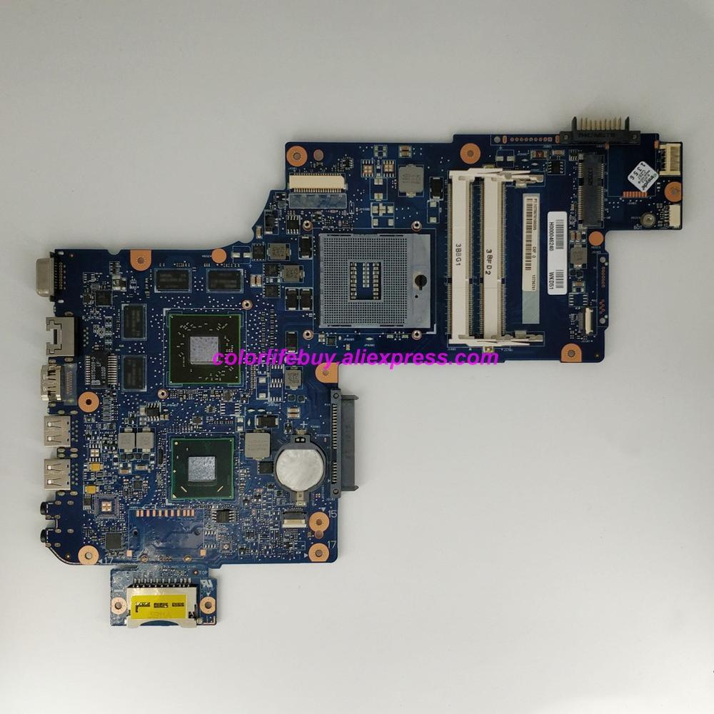 Натуральная H000046240 w 216 0833000 GPU MB REV: 2,1 Материнская плата ноутбука Toshiba Satellite, 17,3 ''L870 L875 Тетрадь ПК-in Материнская плата для ноутбука from Компьютер и офис