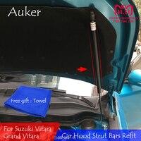 For Suzuki Vitara Car Front Hood Engine Cover Supporting Hydraulic rod Lift Strut Spring Shock Bars Bracket