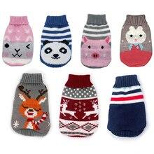 Милая Одежда для собак и кошек, милый мультяшный свитер со щенком, пальто, мягкие теплые куртки для питомцев, осенне-зимние пальто для маленьких собак, кошек, чихуахуа