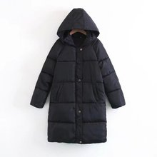 Try Everything Long Winter Coat Women Parka Black Female Plus Size 2019 Jackets Woman Coats Outwear